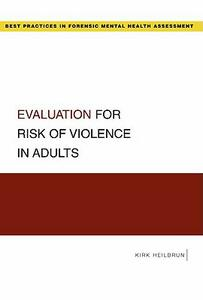 Evaluation for Risk of Violence in Adults - Kirk Heilbrun - cover