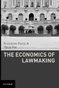 The Economics of Lawmaking - Francesco Parisi,Vincy Fon - cover