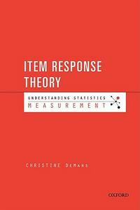 Item Response Theory - DeMars - cover