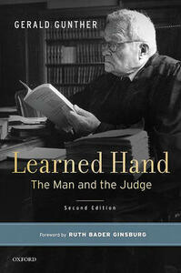 Learned Hand: The Man and the Judge - Gerald Gunther - cover