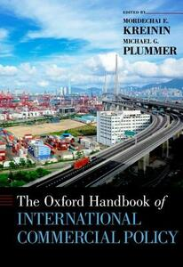 The Oxford Handbook of International Commercial Policy - cover