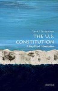 The U.S. Constitution: A Very Short Introduction - David J. Bodenhamer - cover