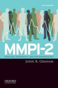MMPI-2: Assessing Personality and Psychopathology - John R. Graham - cover