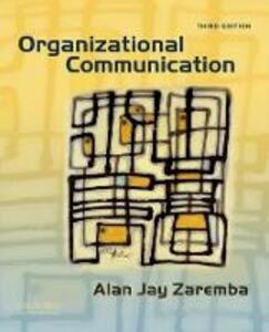 Organizational Communication - Alan Jay Zaremba - cover