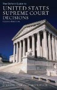 The Oxford Guide to United States Supreme Court Decisions - Kermit L. Hall - cover