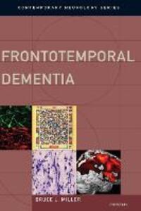 Frontotemporal Dementia - Bruce L. Miller - cover