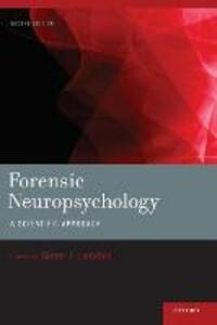Forensic Neuropsychology: A Scientific Approach - cover