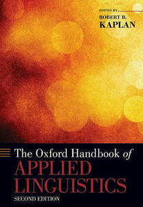 The Oxford Handbook of Applied Linguistics - cover