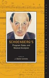 Schoenberg's Program Notes and Musical Analyses - cover
