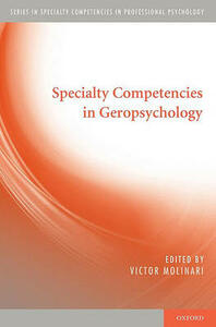 Specialty Competencies in Geropsychology - cover
