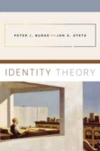 Identity Theory - Peter J. Burke,Jan E. Stets - cover