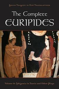 The Complete Euripides Volume II Electra and Other Plays - cover