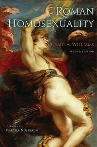 Roman Homosexuality - Craig A. Williams - cover