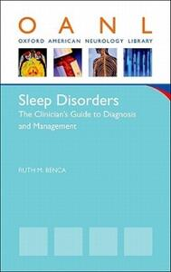 Sleep Disorders: The Clinician's Guide to Diagnosis and Management - Ruth Benca - cover