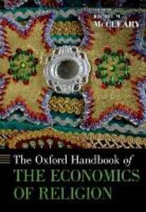 The Oxford Handbook of the Economics of Religion - cover