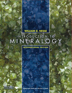 Introduction to Mineralogy: International Edition - William D. Nesse - cover