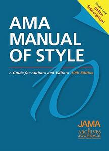 AMA Manual of Style: A Guide for Authors and Editors: Special Online Bundle Package - JAMA and Archives Journals - cover