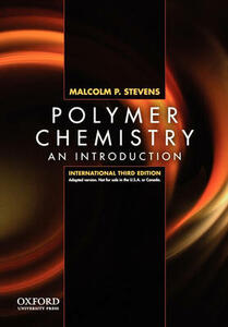 Polymer Chemistry: An Introduction, Third Edition, International Edition - Malcolm P. Stevens - cover