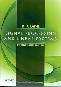 Signal Processing and Linear Systems: International Edition - B. P. Lathi - cover