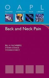 Back and Neck Pain - Bill H. McCarberg,Steven Stanos,Yvonne M. D'Arcy - cover