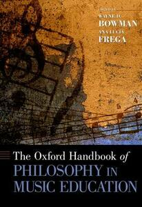 The Oxford Handbook of Philosophy in Music Education - cover
