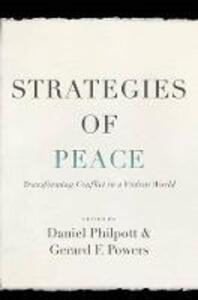 Strategies of Peace - Daniel Philpott,Gerard Powers - cover