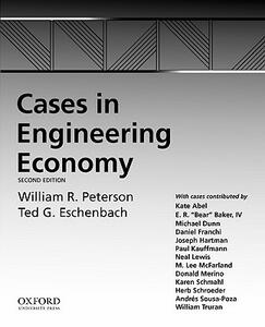 Cases in Engineering Economy - Ted Eschenbach - cover