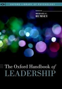 The Oxford Handbook of Leadership - cover