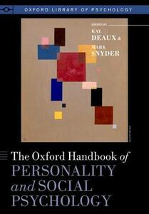 The Oxford Handbook of Personality and Social Psychology - cover