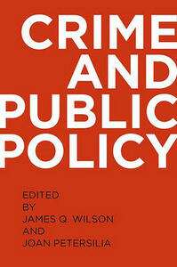 Crime and Public Policy - cover