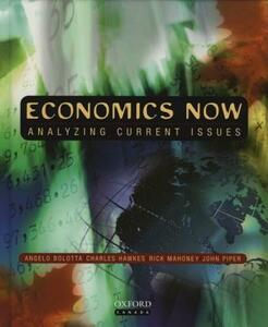 Economics Now: Analyzing Current Issues - Angelo Bolotta - cover