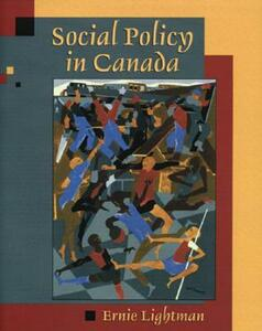 Social Policy in Canada - Ernie Lightman - cover