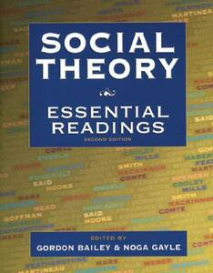 Social Theory: Essential Readings - cover