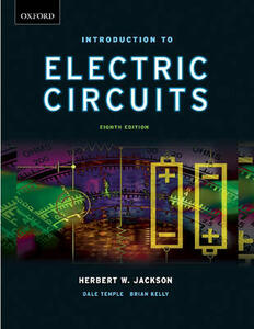 Introduction to Electrical Circuits - Herbert W. Jackson,Dale Temple,Brian E. Kelly - cover