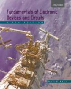 Fundamentals of Electronic Devices and Circuits - David A. Bell - cover