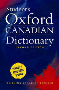 Student's Oxford Canadian Dictionary - cover