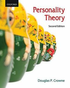 Personality Theory - Douglas Prescott Crowne - cover