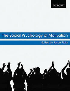 The Social Psychology of Motivation - cover