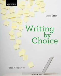 Writing by Choice - Eric Henderson - cover