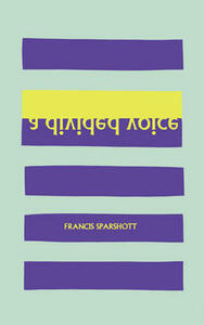 A Divided Voice: Poems - Francis Sparshott - cover