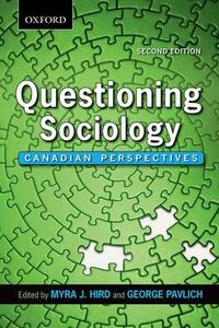 Questioning Sociology: Canadian Perspectives - cover