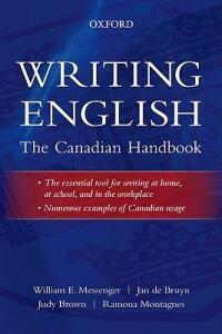 Writing English: The Canadian Handbook - William E. Messenger,Jan de Bruyn,Judy Brown - cover