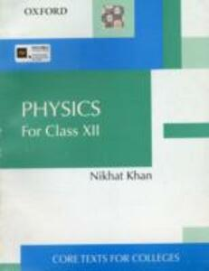 Physics for Class XII - Nikhat Khan - cover