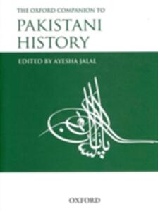 The Oxford Companion to Pakistani History - cover