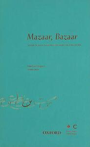 Mazaar, Bazaar: Design & Visual Culture in Pakistan - cover