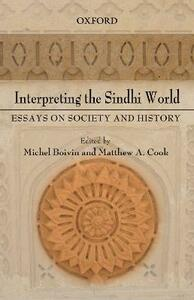 Interpreting the Sindhi World: Essays on Society and History - cover