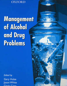 Management of Alcohol and Drug Problems - cover