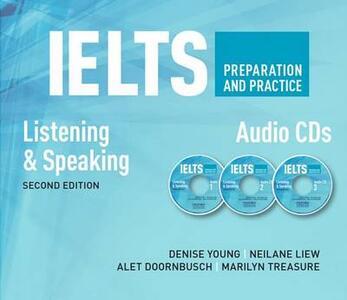 IELTS Preparation & Practice Speaking&listening Audio CD - cover