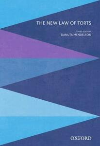 The New Law of Torts - cover