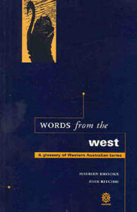 Words from the West: A Glossary of Western Australian Terms - cover